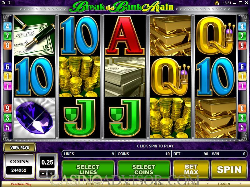 Break Da Bank Pokies Review
