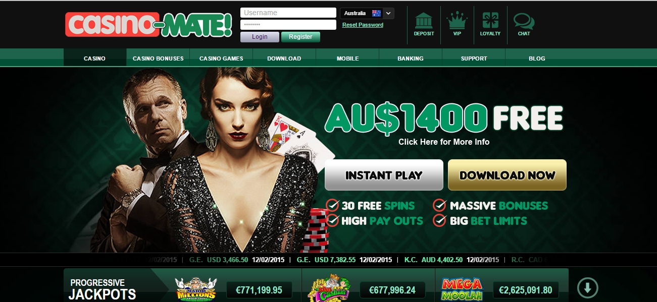 Casino Mate a favourite online casino with Kiwis
