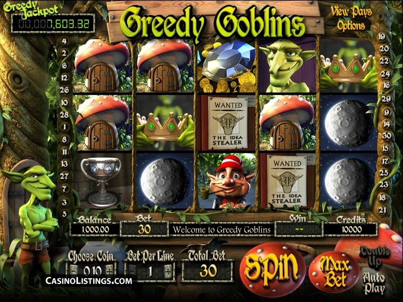 Greedy Goblins Pokies Review