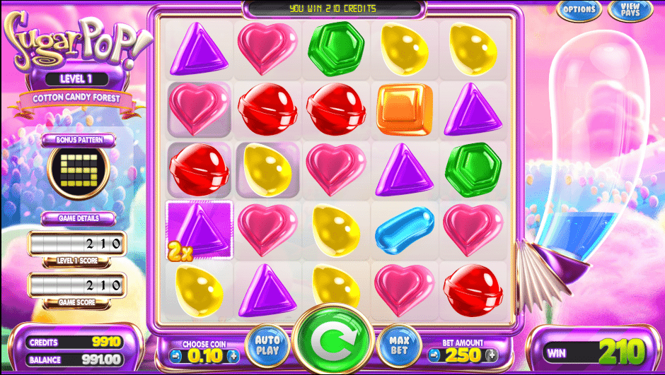 Sugar Pop Slots Review