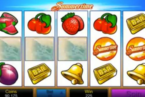 Microgaming's Summertime Pokies Machine